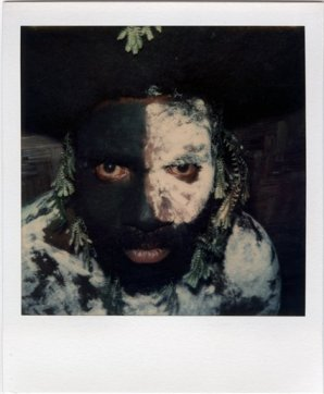 One of David Bailey's Papua Polaroids