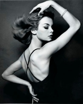 Classically glamorous image by David Bailey