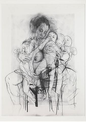 Sketch by Jenny Saville