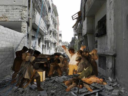 Azzam's interpretation of Goya for his 'Syrian Museum'