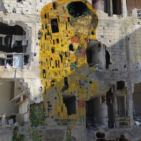Tammam Azzam's The Kiss