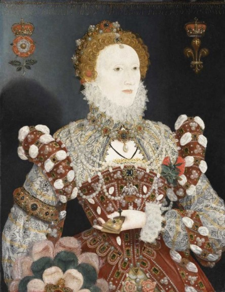 Queen Elizabeth I- The Pelican Portrait by Nicholas Hilliard
