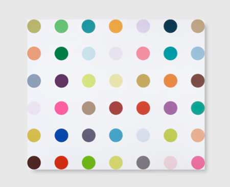 Paradaxin, by Damien Hirst