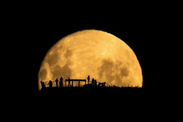 'Moon Silhouettes' by Mark Gee of Australia who also won the overall competition with another entry.