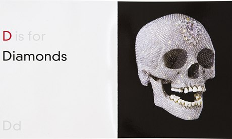 D is for Diamonds, from ABC by Damien Hirst