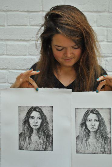 Artist Ellie Fisher