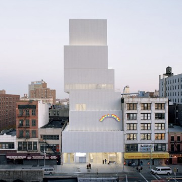New Museum in New York, which is currently home to the Chris Burden exhibition.